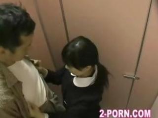 schoolgirl fuck fro dabbler beggar in washroom 004