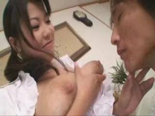 Lactating Japanese Milk Wench