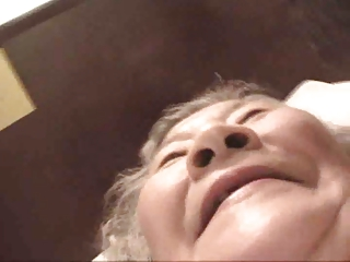 70 yr old Japanese Granny Fucks Good (Uncensored)
