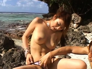 Vigorous busty Reina Matsushima's tang is rammed hard