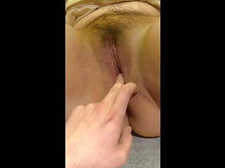 Fuck Chubby Asian Parsimonious Pussy with Finger and Dildo
