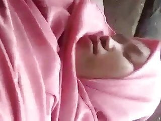 Indonesian - outdoor sex by young couple jilbaber  hijabi