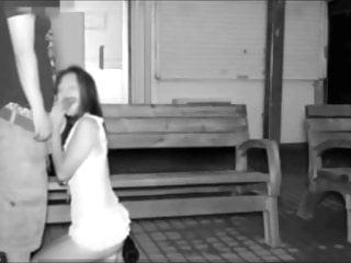 Japanese teen rancid having sex in the street to hand night