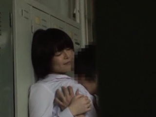 Comely asian honoured Rin Ogawa gets fingered