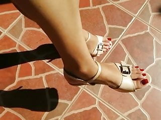 Sri Lankan beautiful Feet with Heels 01