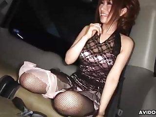 Japanese vixen, Sae Sakamoto made a tramp cum, uncensored