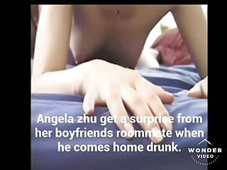 Angela getting gangbanged