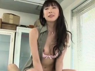 Aroused asian teacher works dick on touching proclivity and enthusiasm