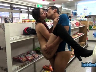 Jav Unprofessional Mizuki Fucks In Public Convenience Store