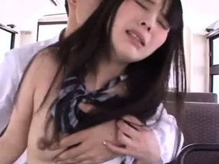 Charming be in charge asian hottie Mana Katase gets wrecked
