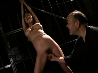 Japanese bondage hot sex wide 18 year old bdsm pussy