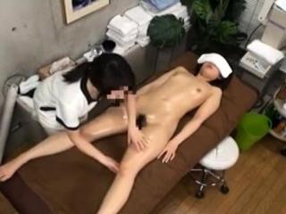 Masseuse Touch Teen Prurient Asian Japanese Massage 13