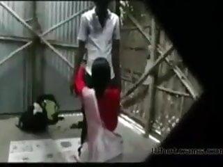 Desi bengali Teacher Outdoor sex with student