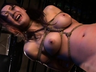 Japanese BDSM Busty waiting upon in Jail