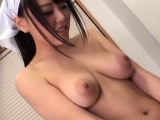 Cute Mao Hamasaki with fat breast fucks and deepthroats