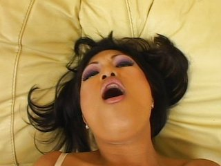 Covetous Asian pussy being pompous with