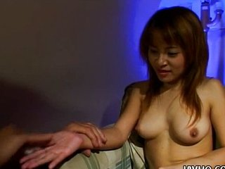 Teen Ayumi Takano blowjob and tasteless cumshot!