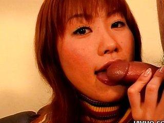 Unnerved cooky Kyoka Usami fabulous blowjob