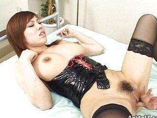 Miu Satsuki fucked stranger rearwards