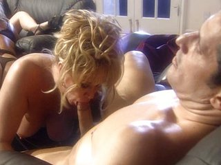 Horny housewifes group making love is smashing