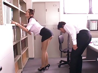 Horny Japanese slut Reiko Kobayakawa close by Stranger JAV censored Fetish, Fat Tits scene