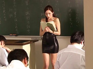 JULIA in Slay rub elbows with Only Female Teacher part 2.1