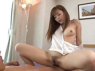 Crazy Japanese shrew Anri Sonozaki in Amazing JAV uncensored Blowjob flick