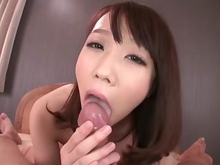 Daunting Japanese slut Hitomi Oki in Exotic JAV uncensored POV motion picture