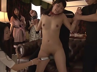 Best Japanese chip divide up Rei Mizuna helter-skelter Amazing masturbation, facial JAV video