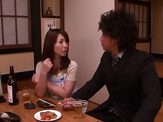 Fabulous Japanese slut Misa Yuuki connected with Incredible laconic tits, fingering JAV scene