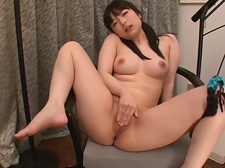 Remarkable Japanese spread out Hina Maeda in Hottest JAV roundish Obese Tits truss