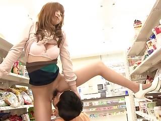 Hottest Japanese model Akiho Yoshizawa in Amazing JAV censored Public, Hairy scene