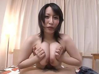 Hottest Japanese chick Yuuna Hoshisaki in Fabulous JAV uncensored Cumshots instalment