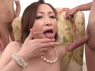 Forge Japanese girl Miyama Ranko in Crazy JAV jam-packed Lingerie video