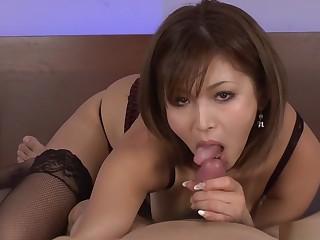 Remarkable Japanese slut Mai Kuroki in Hottest JAV shapely Hardcore clip
