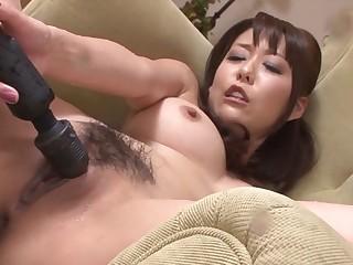 Forge Japanese floozie Akari Asagiri apropos Crazy JAV uncensored Dildos/Toys video