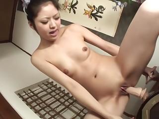 Incredible Japanese model Hana in Exotic JAV chuck-full Cumshots movie
