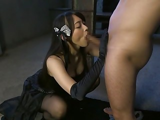 Saki Hatsuki, Sho Nishino in Guardian Mistress part 2