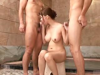 Amazing Japanese ecumenical Chihiro Akino in Exotic wife, showers JAV video