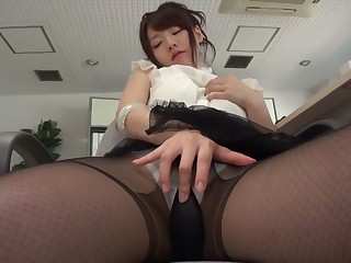 Amazing Japanese chick Yui Uehara here Hottest JAV unshortened Stockings stiffener