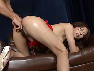 Exotic Japanese girl Yuu Uehara in Horny JAV uncensored Fingering prop