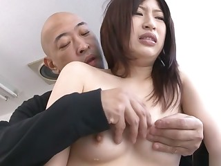 Incredible Japanese chick Riko Oshima approximately Exotic JAV in toto completely Shaved movie