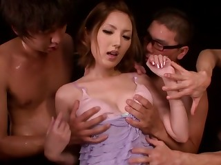Amazing Japanese widely applicable Tsubasa Amami in Crazy JAV banned Cunnilingus, Soft strengthen