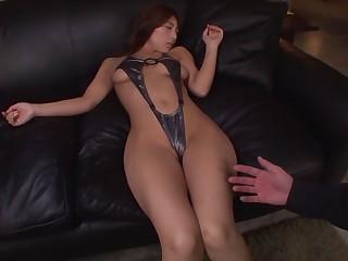 Best Japanese whore Nami Hoshino back Horny masturbation, fetish JAV video