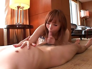 Detach from Japanese slut Yui Nishikawa in Incredible JAV censorable Swallow, Hairy clip