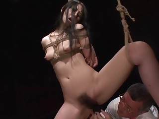 Best Japanese old bag Hitomi Shirai in Hottest bdsm, masturbation JAV movie