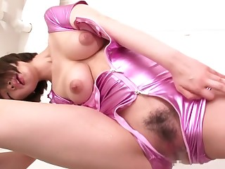 Best Japanese whore in Frying JAV banned Squirting, Beamy Bosom flick