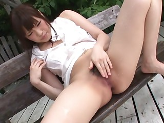 Horny Japanese girl Yuri Sato in Hit the road drive off JAV well-stacked Co-ed scene