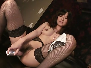 Crazy Japanese model Manami Komukai about Amazing JAV undimmed MILFs movie