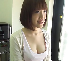 Hottest Japanese battle-axe An Misaki in Horny masturbation, chunky tits JAV scene